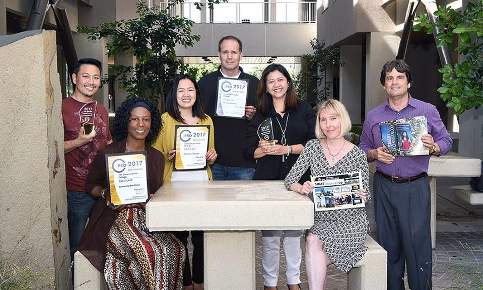 Delta College Marketing Team Receives Three State Awards