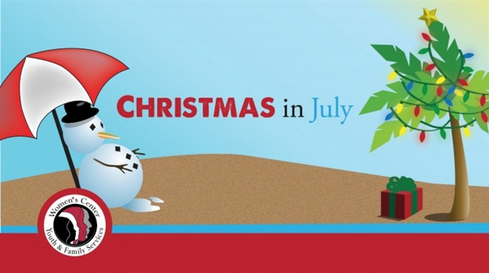 Women's Center-Youth & Family Services Hosts Christmas in July
