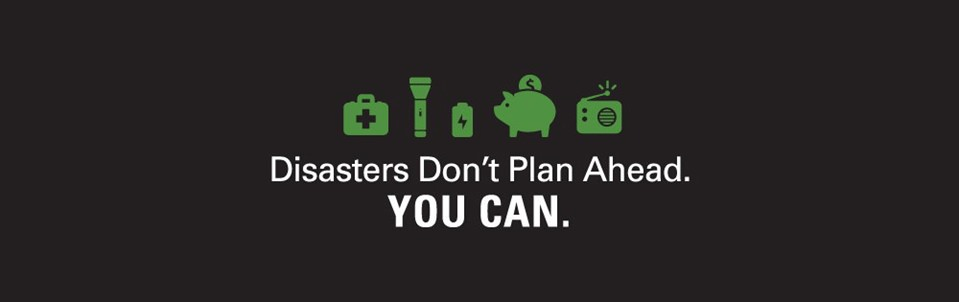 Disasters Don't Plan Ahead: You Can!