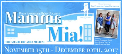 Stockton Civic Theatre presents Mamma Mia! the wildly popular musical comedy based around the music of ABBA.