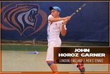 Men's Tennis Inks John Horoz Garner