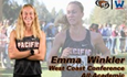 Winkler Earns All-WCC Academic Accolades