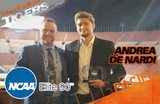 Andrea De Nardi Earns NCAA Elite 90 Award
