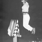 Flagman Jumping Jack Houston made incredible memories at the Stockton 99 Speedway