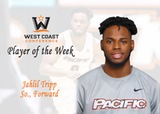 Jahlil Tripp Tabbed WCC Men's Basketball Player of the Week