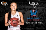 Ameela Li Named WCC Player of the Week