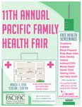 11th Annual Pacific Family Health Fair