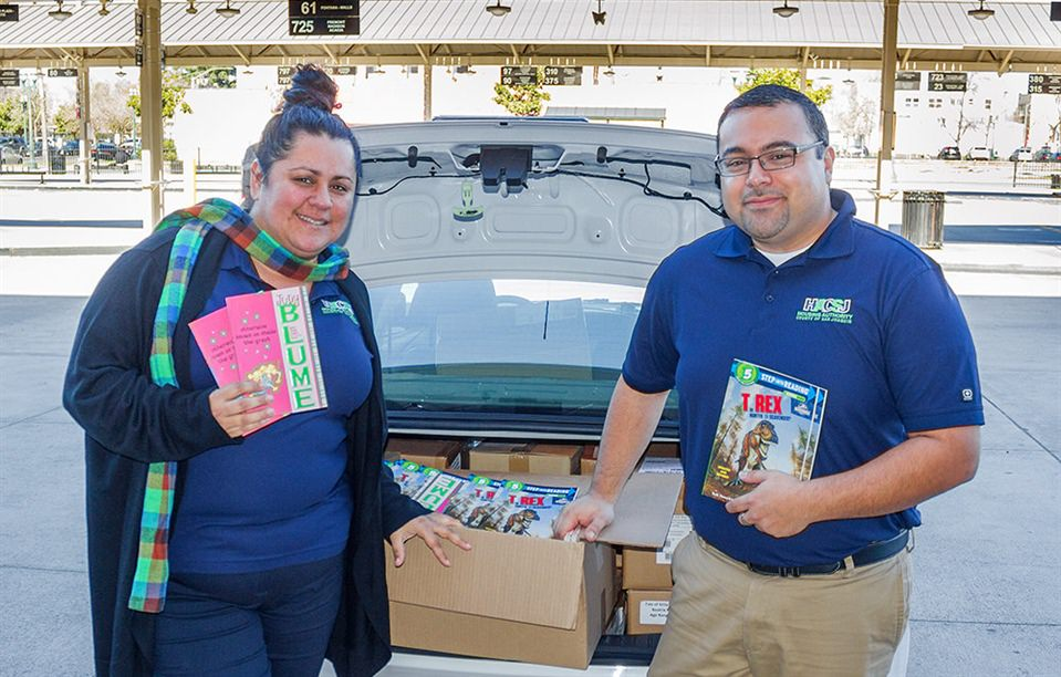 RTD Receives Major Book Donation From Housing Authority