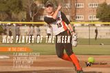 Reed Garners WCC Player of the Week Award