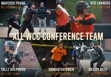 Tigers Earn Five All-WCC Softball Awards