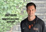 Cory Riecks Joins Pacific Volleyball Staff
