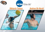 Viktoria Tamas and Andrea Di Nardi Earn NCAA Elite 90 Award