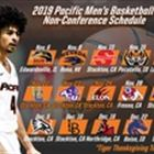 Pacific Announces 2018-19 Non-Conference Matchups