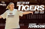 Meet the new Tigers: Cassidy Johnson