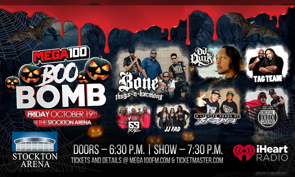 Mega 100 Presents The Boo Bomb Concert Friday, October 19