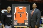 Men's Basketball Honors Former Tiger Dell Demps Thursday Night