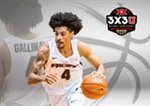 Gallinat Selected to Participate in 2019 Dos Equis 3X3U National Championship