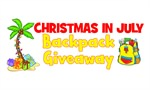 Christmas in July Backpack Giveaway!