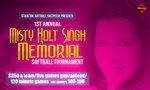 Misty Holt-Singh Memorial Softball Complex Dedication
