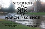 Stockton March for Science - 9am - April 22 at Victory Park