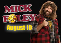 Mick Foley brings his show to Stockton