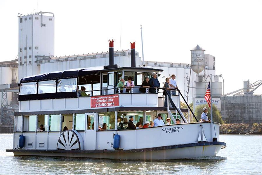 Port of Stockton Offering Free Summer Boat Tours