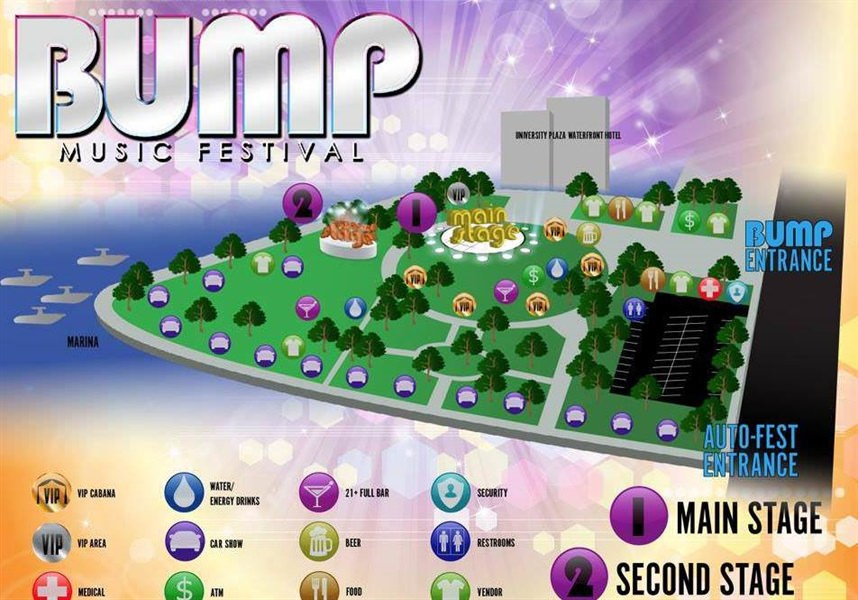 Bump Music Festival Returns to Stockton's Weber Point