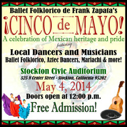 In Search for Performers at Cinco de Mayo Celebrations