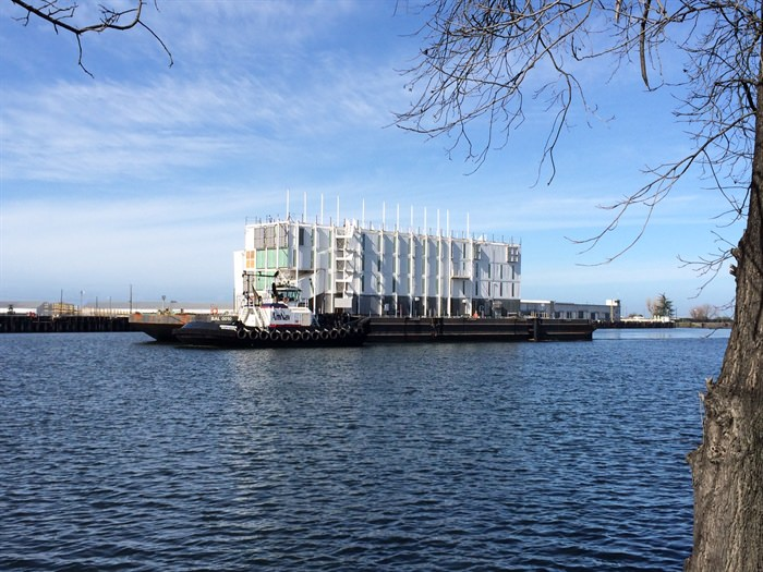 The story behind the mysterious GOOGLE BARGE and Port of Stockton