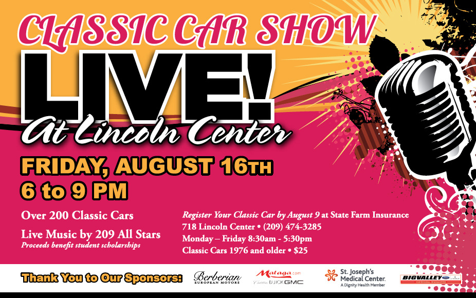 Classic Car Show At Live At Lincoln Center