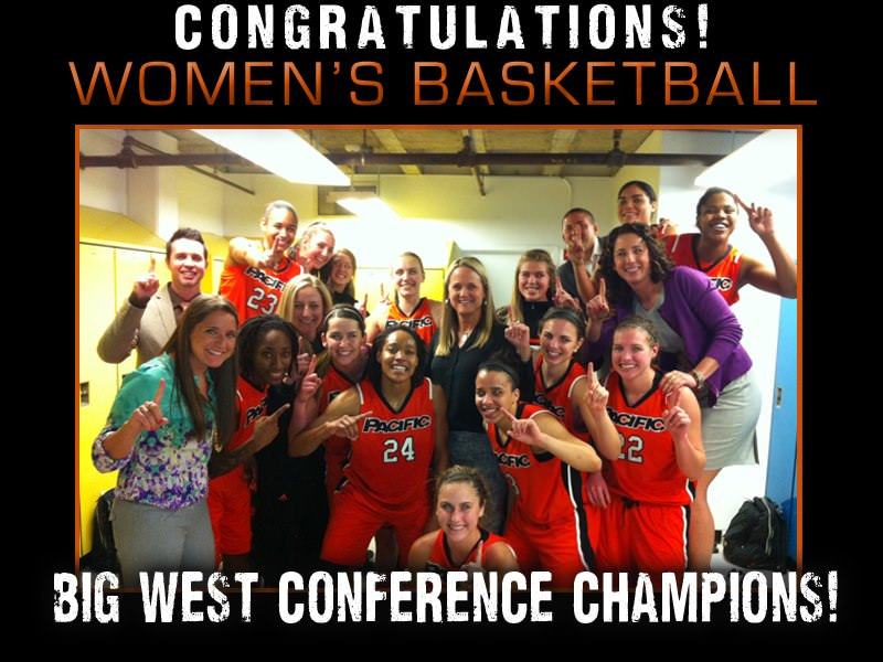 Pacific Women's Basketball Big West Champions!