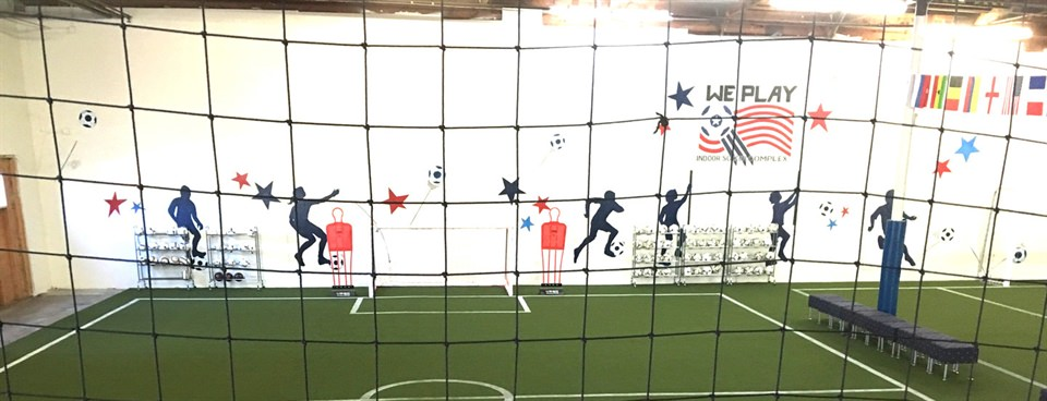 Grand Opening of Indoor Soccer Complex in Stockton