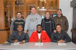 Mustangs Football Players sign National Letters of Intent for William Penn University