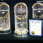 Stockton Memorial Civic Auditorium Hosts San Francisco Giants  World Champions Trophy Tour