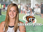 Savannah Burns Recognized as America East Scholar-Athlete