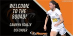 Women's soccer adds Camryn Scully for 2018-19