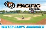 Pacific baseball camps announced