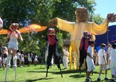 DeltaFusion's Giant Puppets Are Back in Victory Park