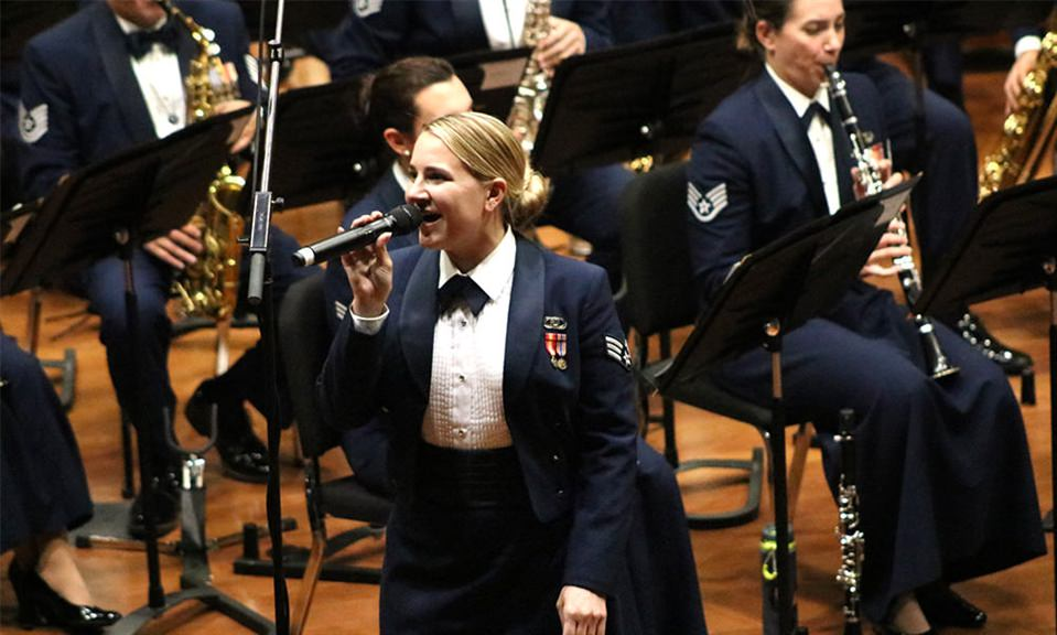 U.S. Air Force Band to perform at Delta
