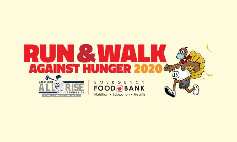 Aaron Judge ALL RISE Foundation and Run Against Hunger