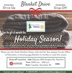 North Stockton Rotary Blanket Drive