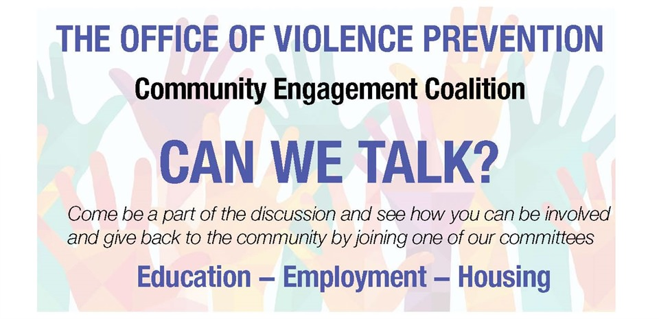 Community Engagement Coalition Meeting on September 29