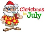Christmas in July at Pixie Woods