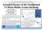 Monte Diablo Avenue On and Off-ramps are Now Open!