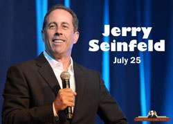 Jerry Seinfeld to Appear on Stage at the Bob Hope Theatre