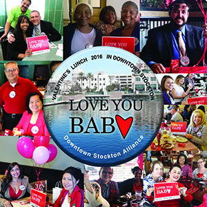 Love You Baby Lunch Celebrates  Valentine's Day Spirit in Downtown