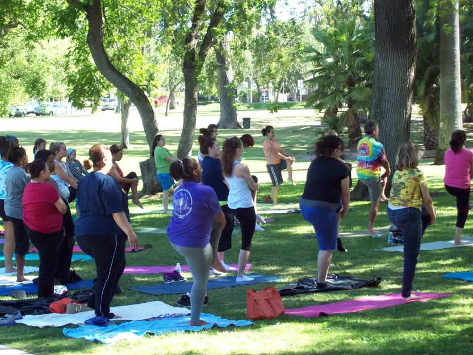 Free Yoga in Victory Park Saturday Mornings